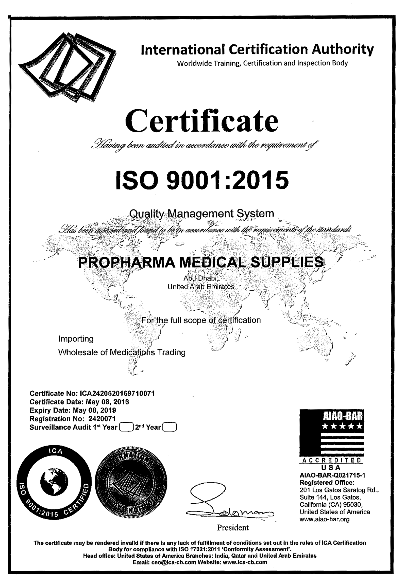 medical certification| medical equipment dubai|Pharmaceuticals company